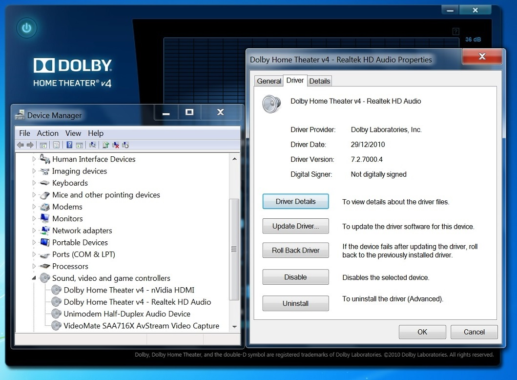 Dolby home theater v4 pc audio free download