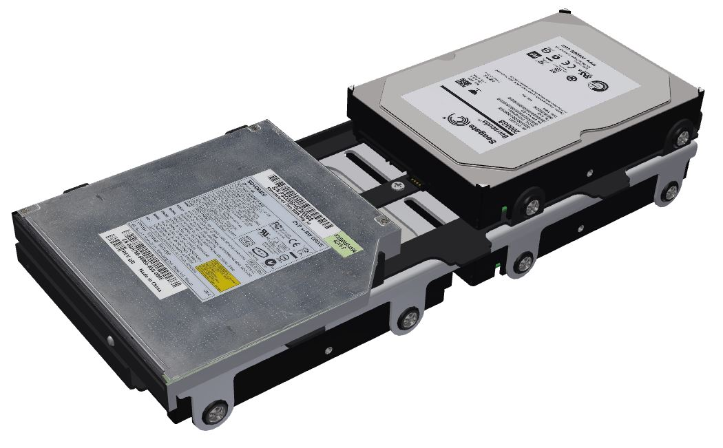 Drive Trays with drives and optical.JPG