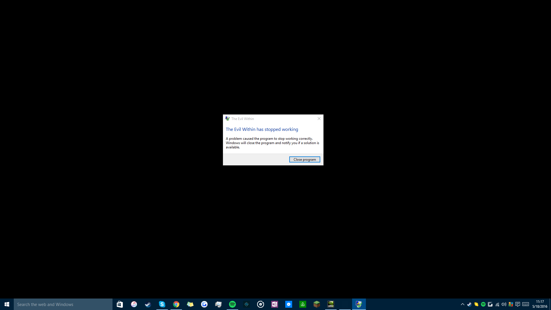 The Evil Within(PC) crashing on startup | TechPowerUp Forums