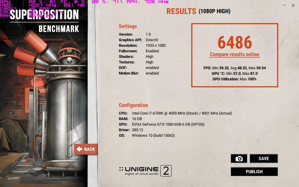 EVGA GeForce GTX 1060 6GB SC clocks 116procent powerlimit core.png