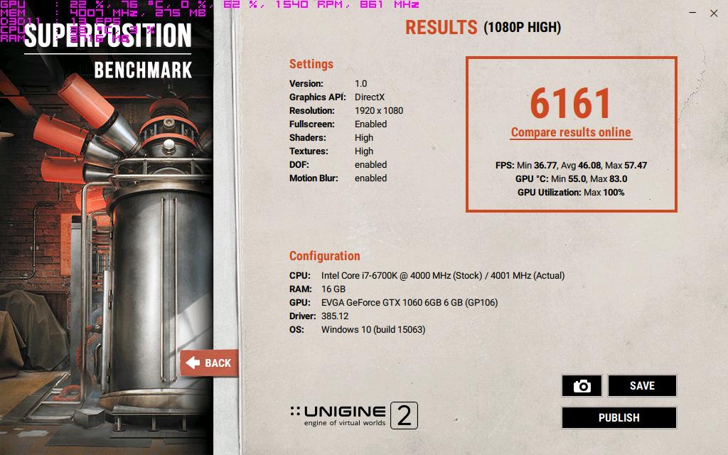 EVGA GeForce GTX 1060 6GB stock clocks 100procent powerlimit.png