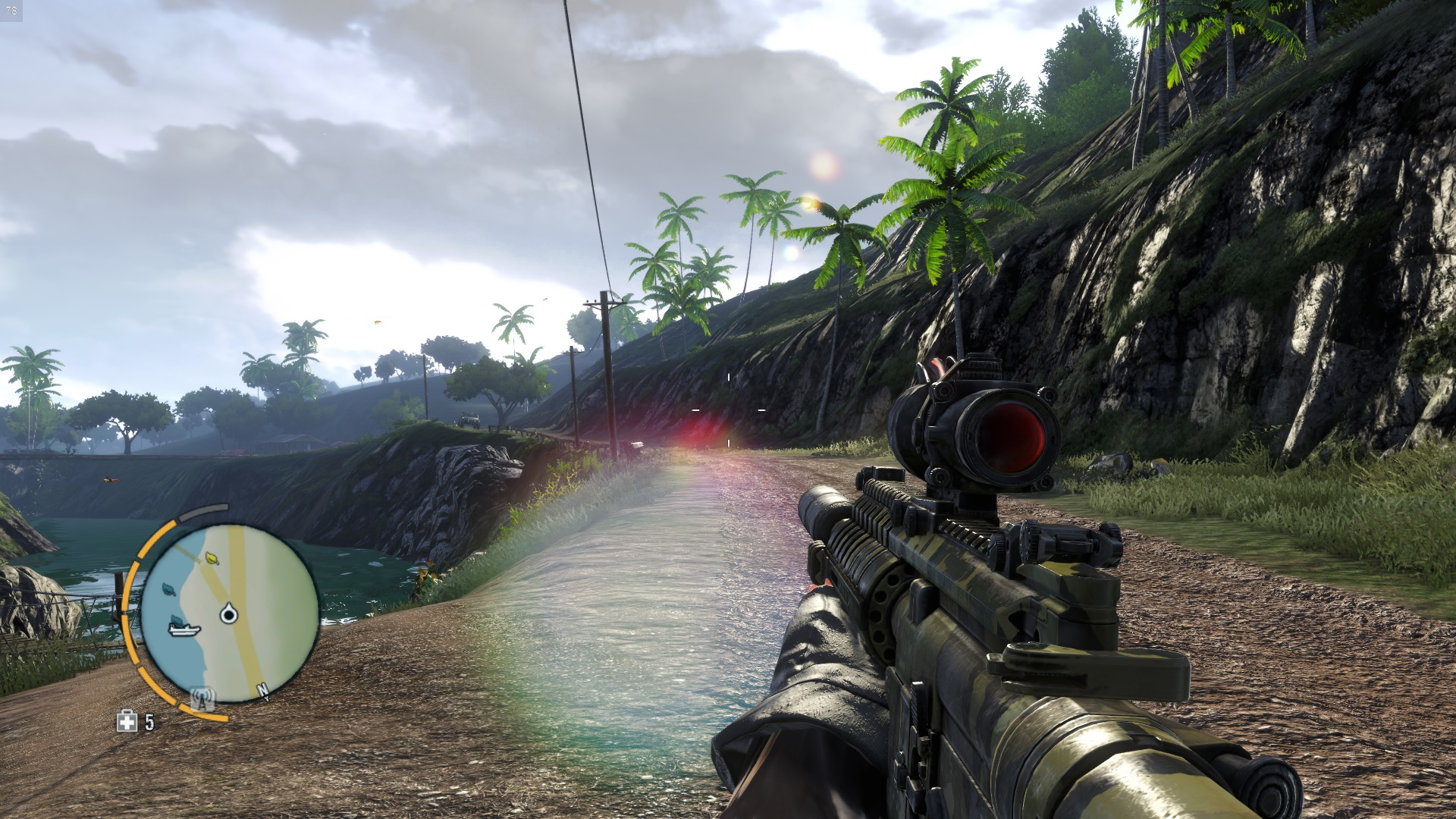 Far Cry 3 FPS hovers around 20-50fps regardless of settings