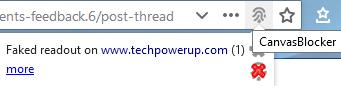 Firefox CanvasBlocker TechPowerUp.png