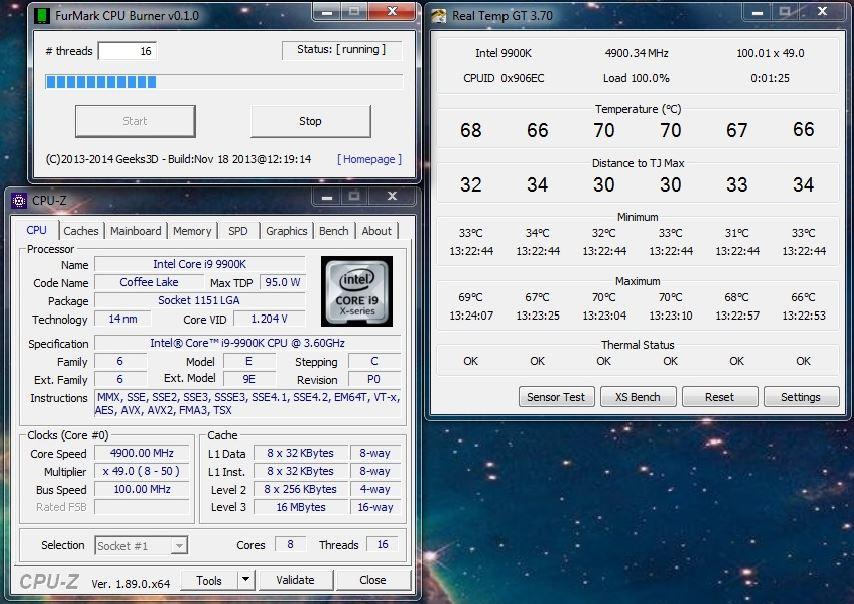 Intel 9900k   my findings   Heat   | Page 2 | TechPowerUp Forums