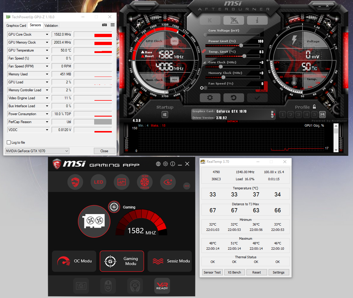 GPU Temp and Clock/Memory Speed is High on Idle