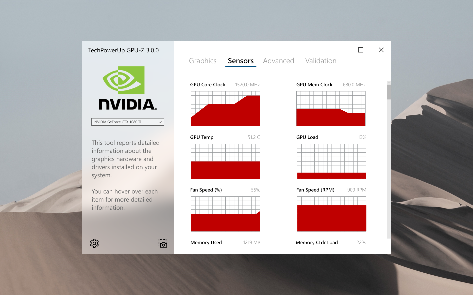 GPU-Z Fluent Modern - Sensors Tab.png