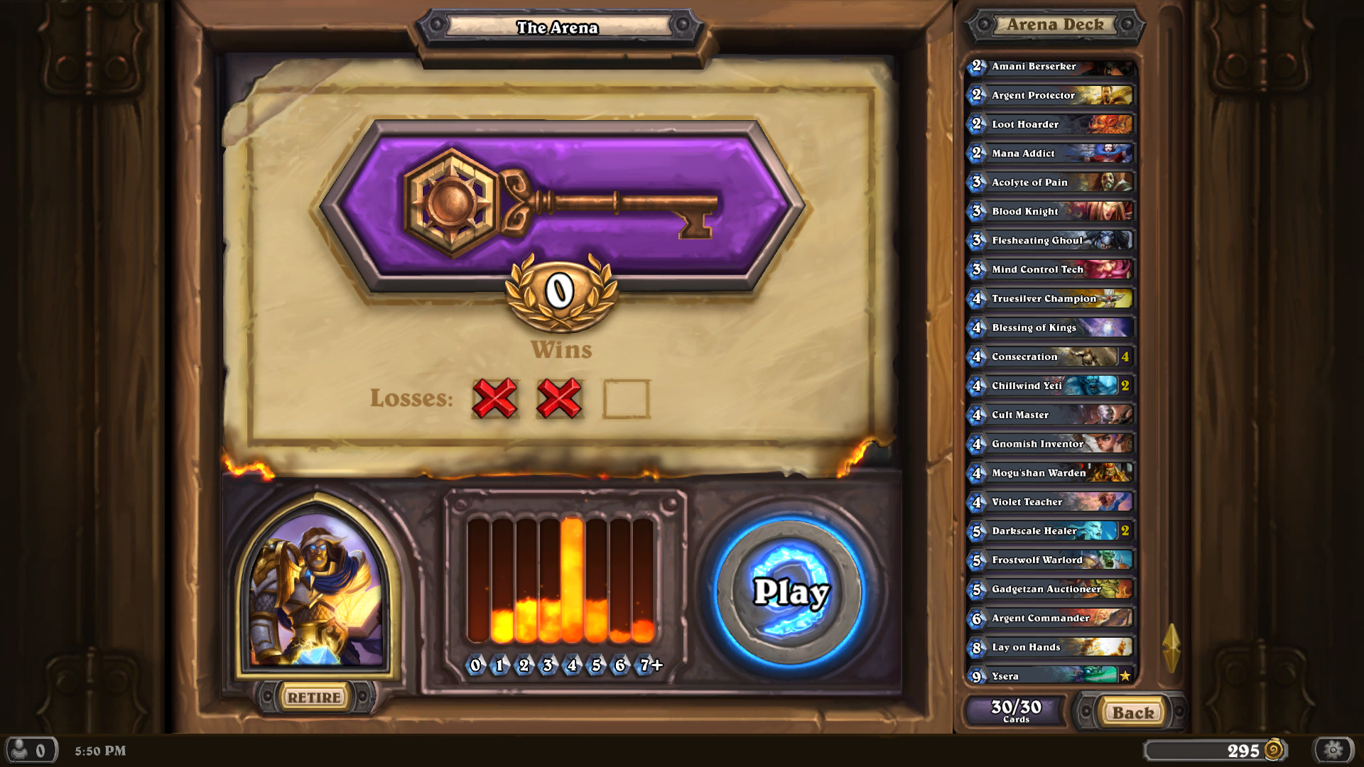0-3 in hearthstone arena with this deck  | TechPowerUp Forums