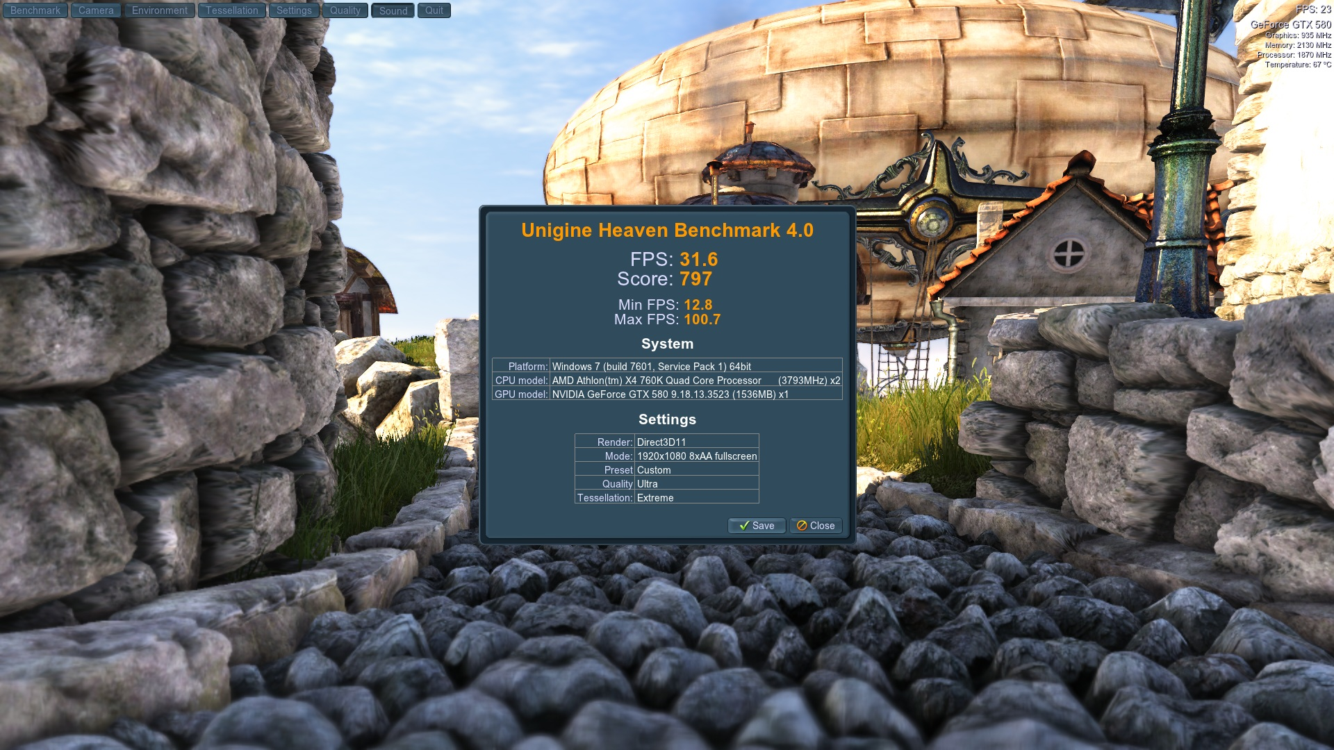 Unigine Heaven 4 0 Benchmark Scores | TechPowerUp Forums