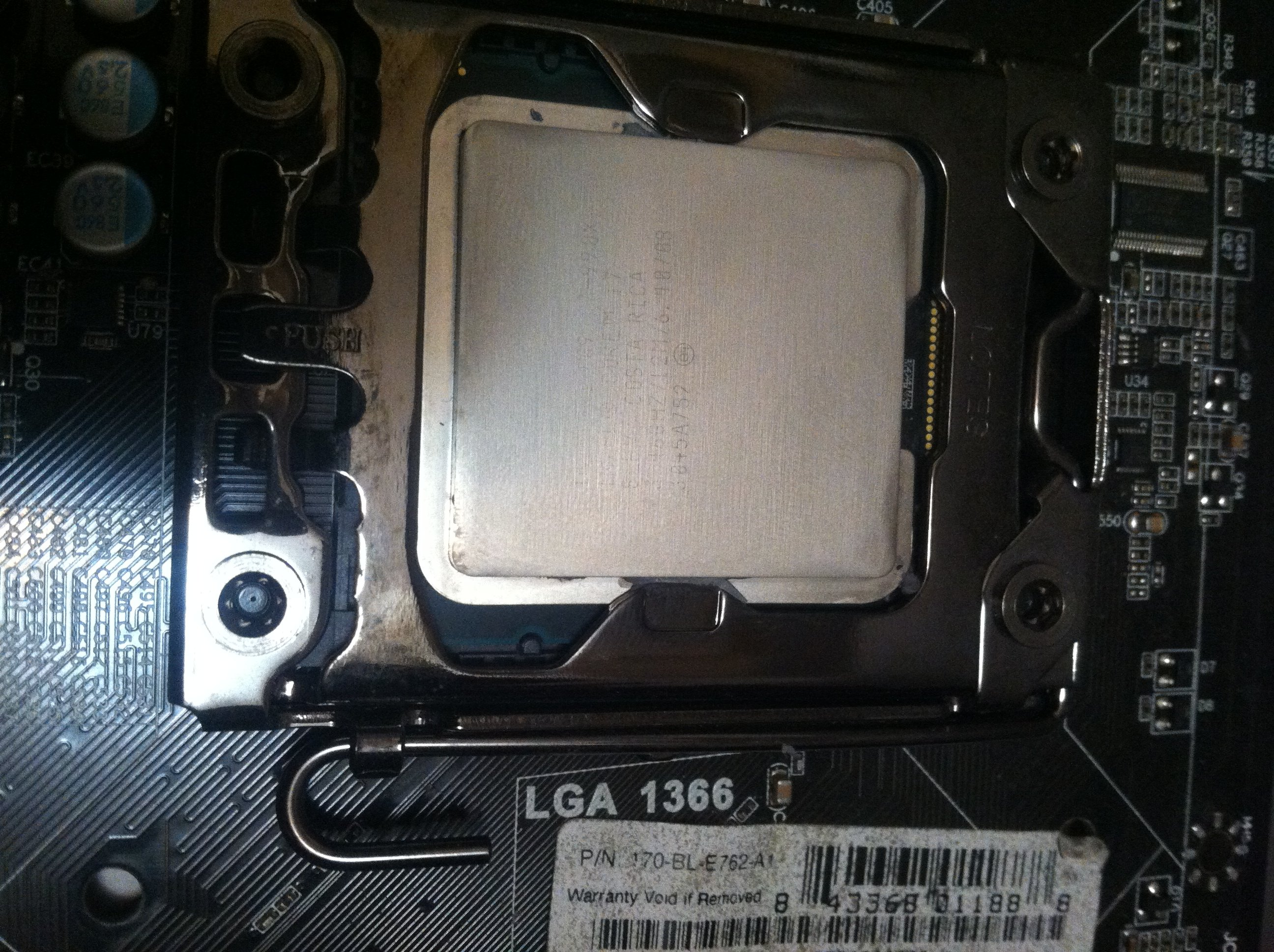 FT] - Evga X58 4way Sli Intel i7 990X   TechPowerUp Forums