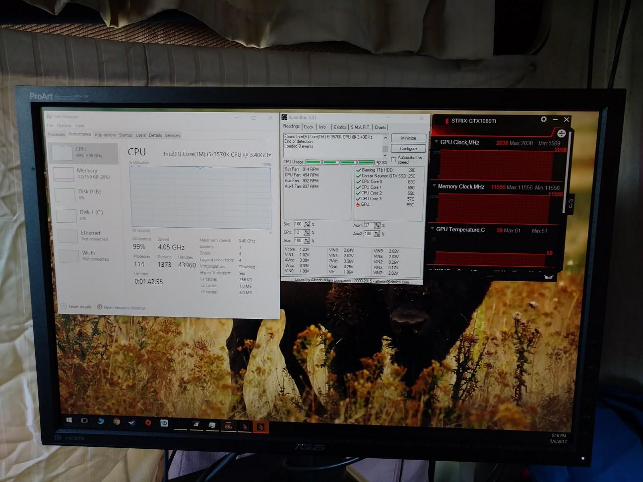 Asus strix OC 1080 TI TEMPS   TechPowerUp Forums