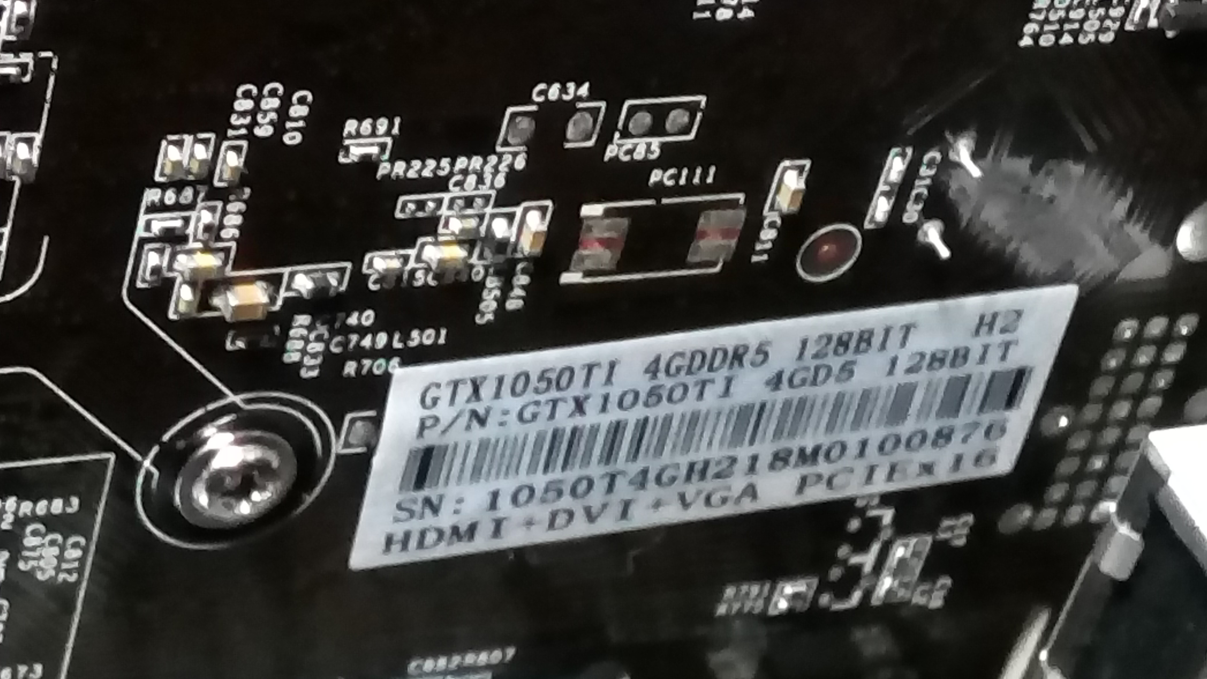 Fake video card GForce GTX 1050ti   Downgrade bios to GTS