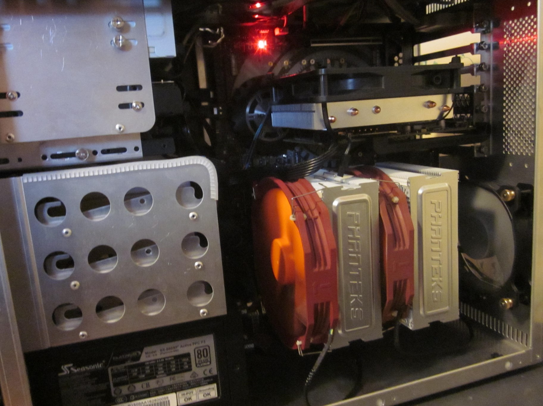 Thermalright Le Grand Macho RT and aftermarket fans? | TechPowerUp