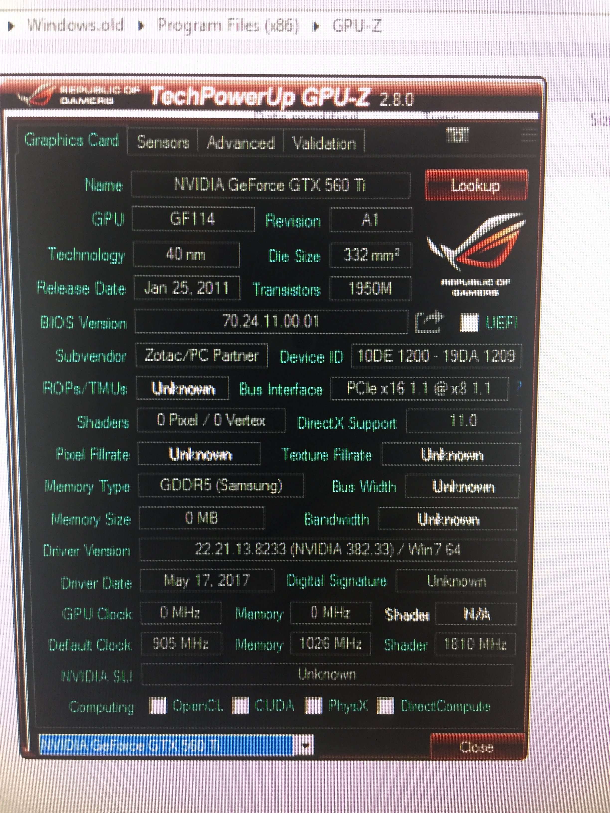 SLI with different cards   Page 105   TechPowerUp Forums