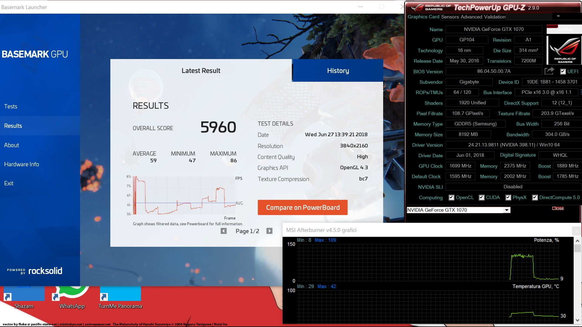 Post Your BaseMark GPU Scores! | Page 8 | TechPowerUp Forums