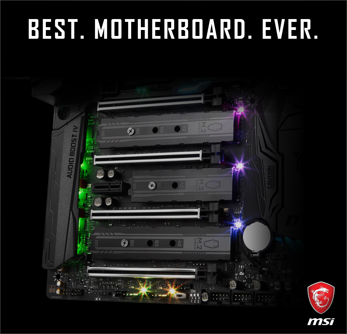 MSI teases motherboard with three M 2 slots | TechPowerUp Forums