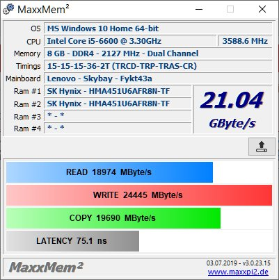 MAXXMEM Benchmark Results Thread | Page 25 | TechPowerUp Forums