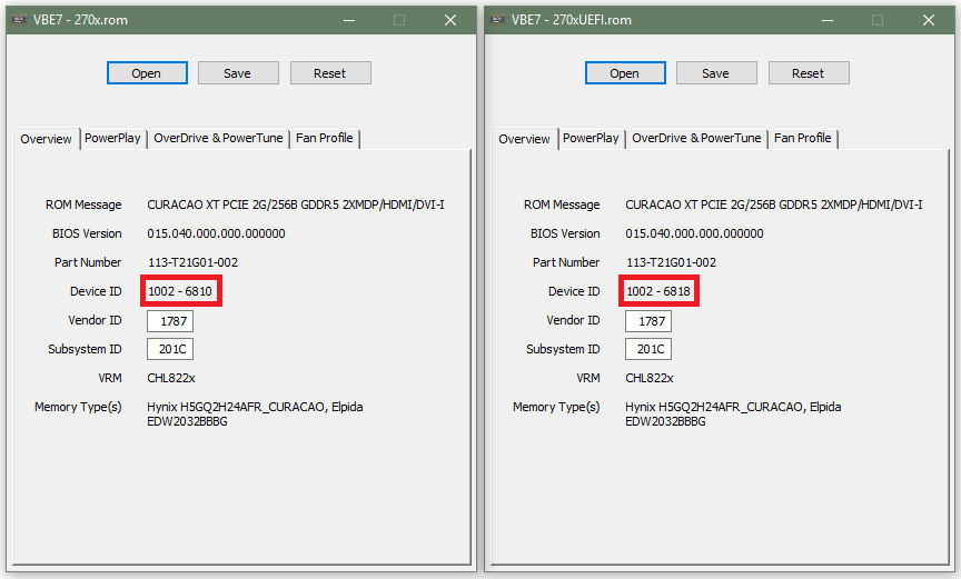 270x Downgrade bios to 7870 for M91p motherboard  | TechPowerUp Forums