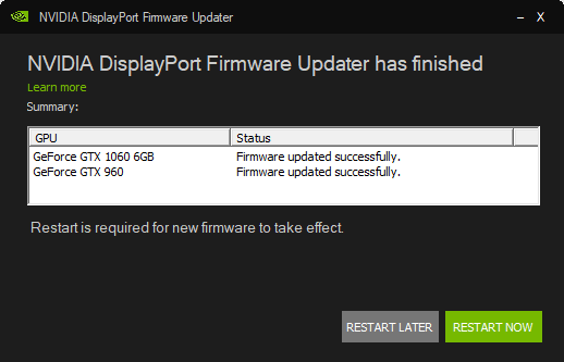 NVIDIA Has a DisplayPort Problem Which Only a BIOS Update Can Fix