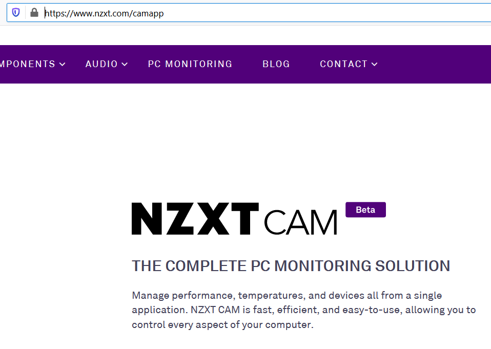 Nzxt Launches Cam 4 0 Software Techpowerup