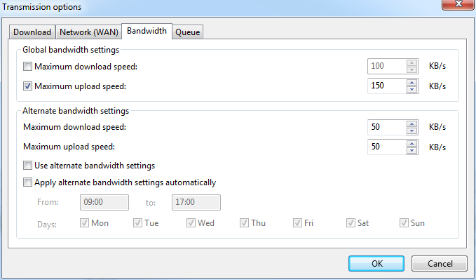 Loss of internet connection only when downloading a torrent with a