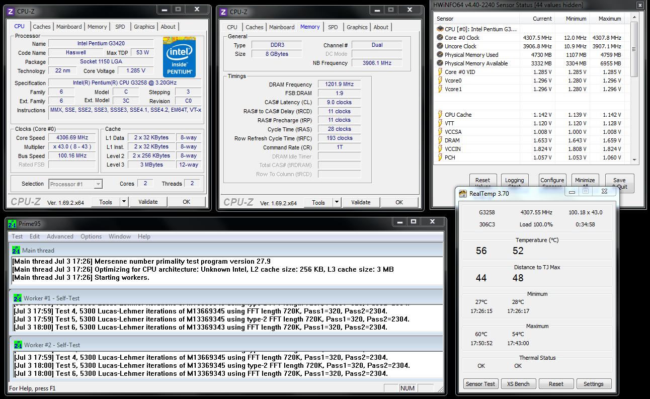 Pentium 4.3GHz Prime blend load.PNG