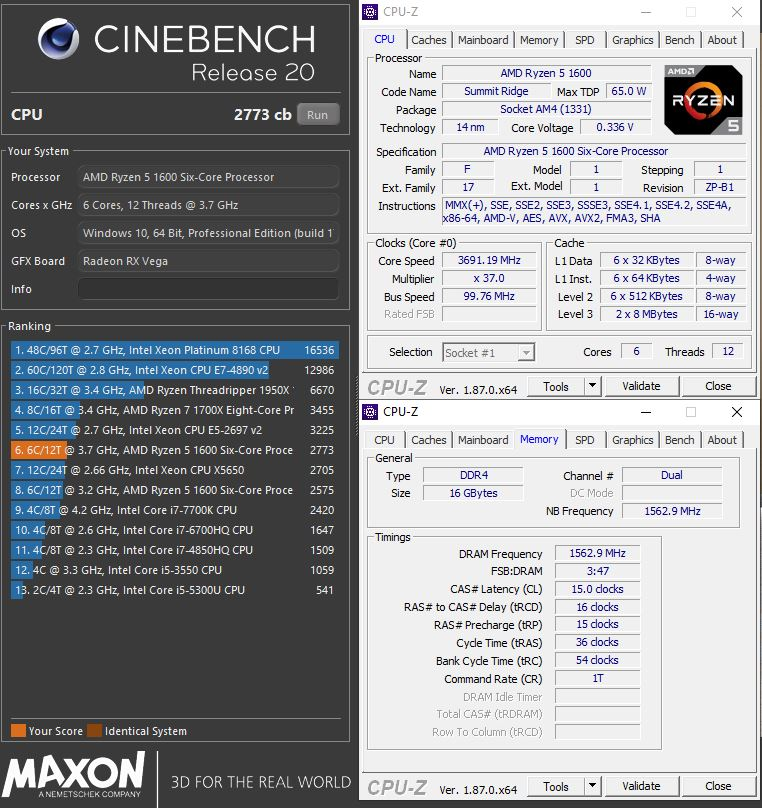Post your Cinebench R20 Score | Page 43 | TechPowerUp Forums