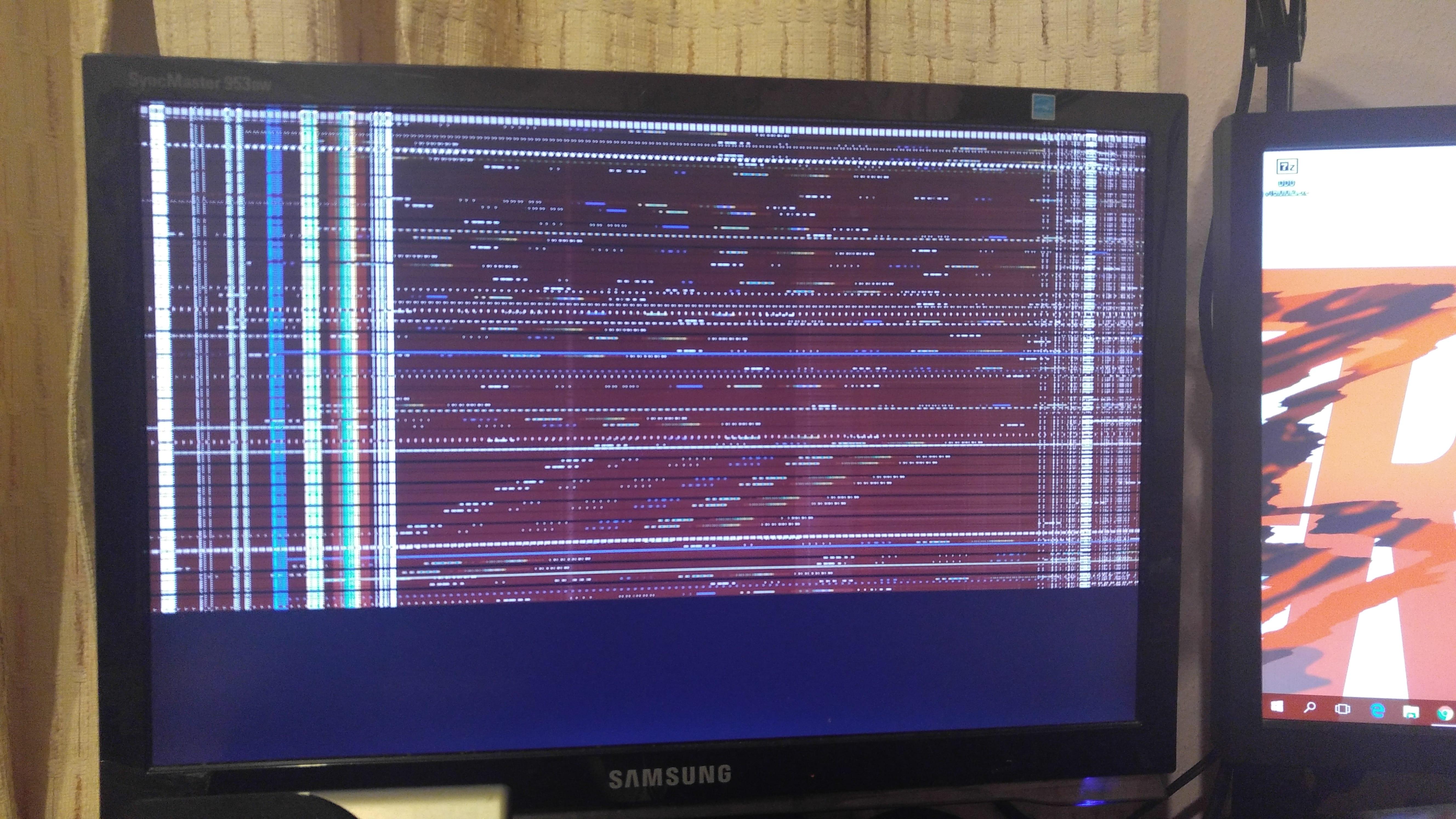 erratic flashing/corrupted display signal xfx r9 280 black edition