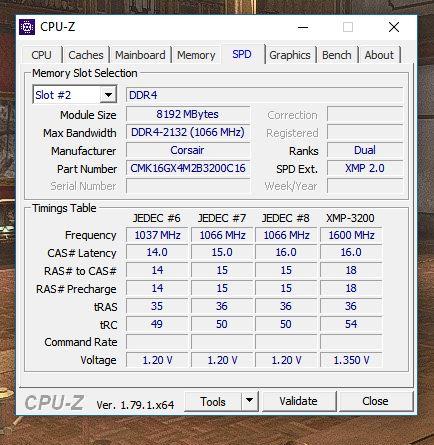 Corsair Vengence LPX 2x8GB will not run at full 3200mhz