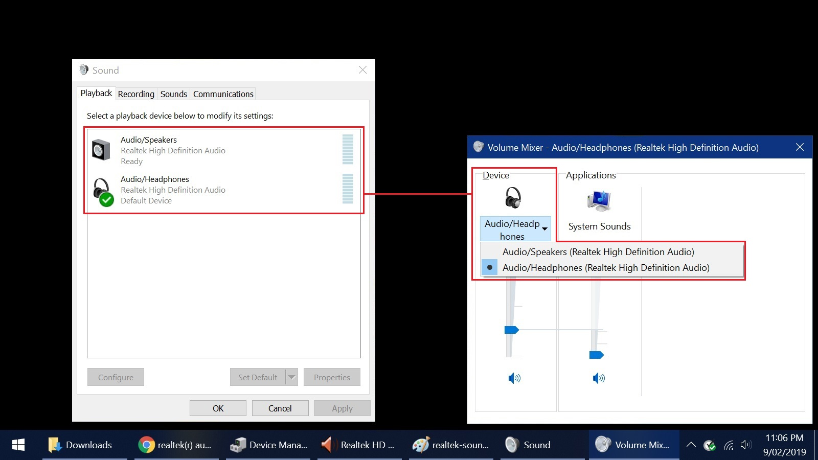 realtek high definition audio driver keeps installing