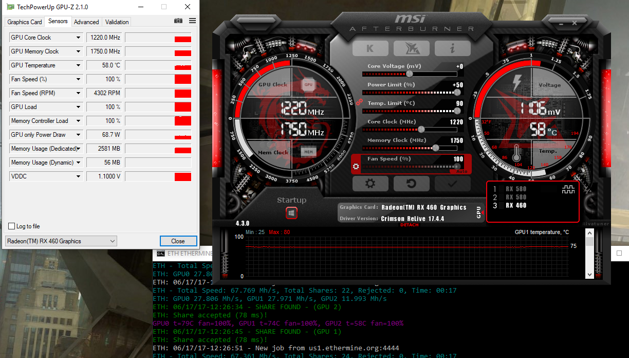 RX580,RX480,RX460 overclocking   Page 3   TechPowerUp Forums