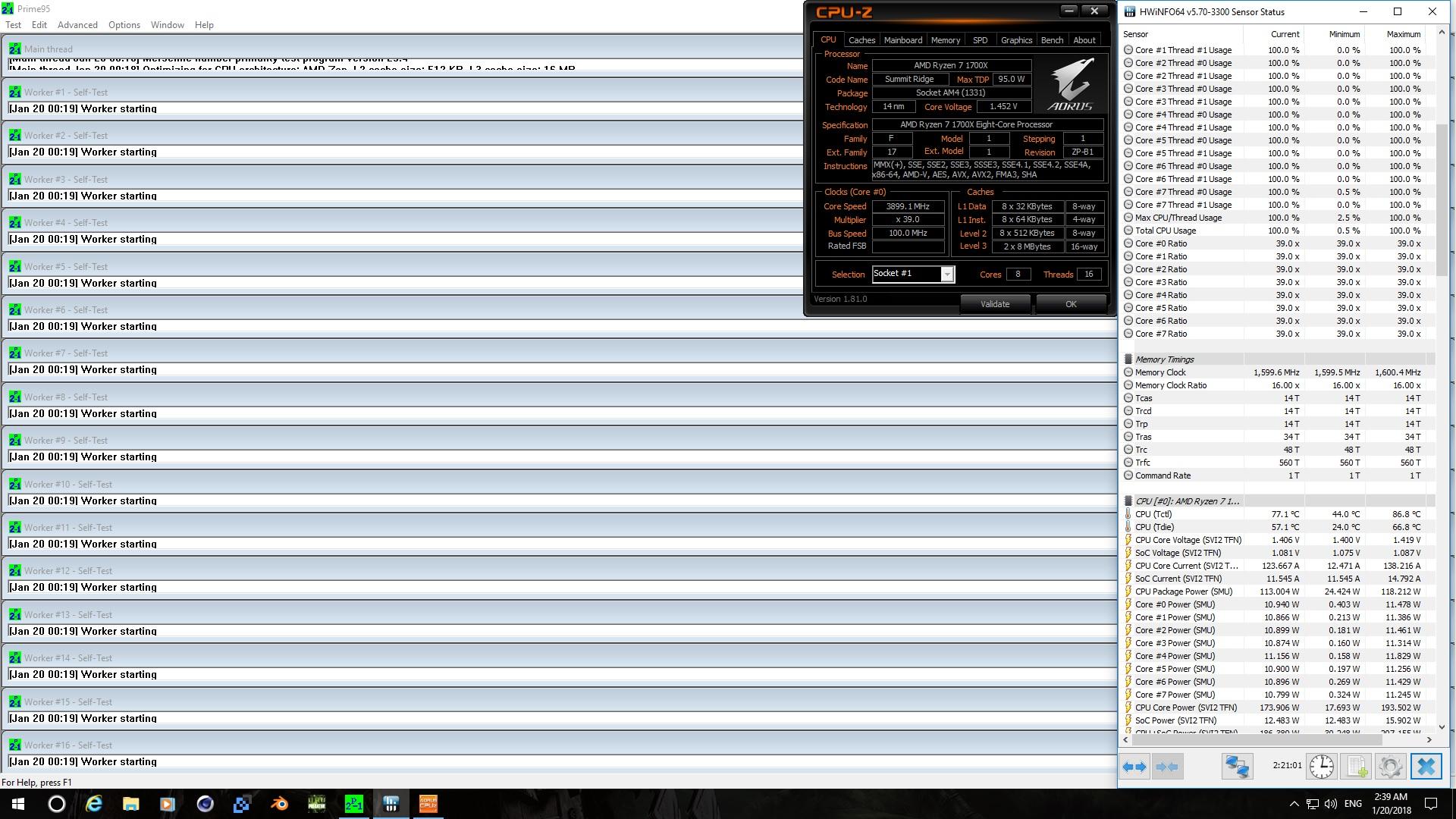 Ryzen 7 3.9GHz Prime95 2h+ run.jpg