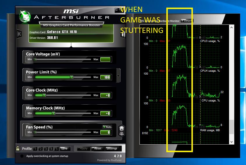 Gtx 1070 Stuttering at 110+ FPS, Especially in GTA 5