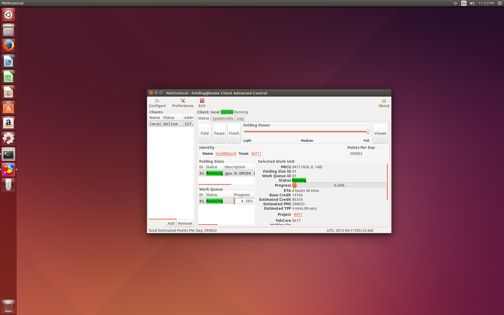 F@H Ubuntu 15 10 install for Nvidia GPU's | TechPowerUp Forums