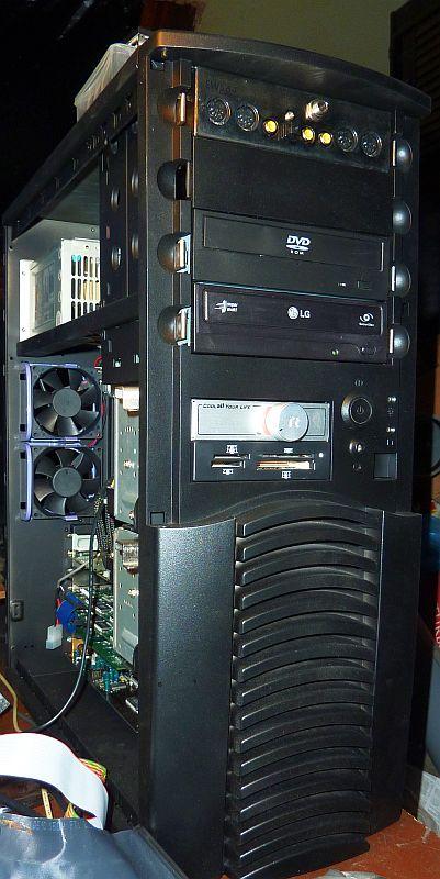 Slot A Asus K7M, Athlon Slot A 1GHz, Rage Fury MAXX, Voodoo II SLI, TerraTec EWS64 XL 02.jpg