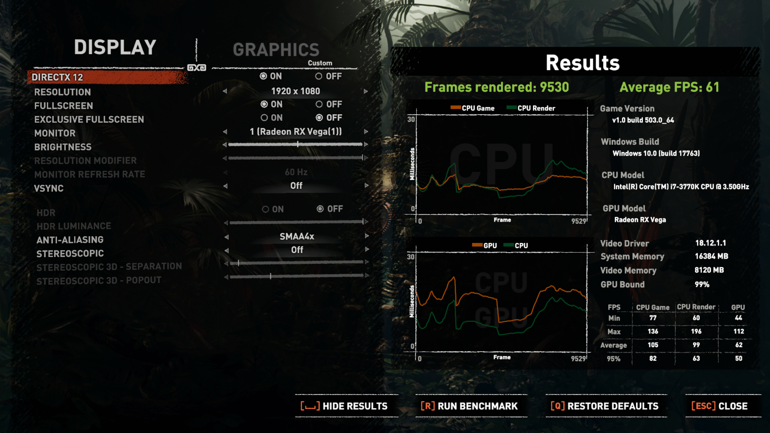 Shadow of the Tomb Raider benchmark | TechPowerUp Forums