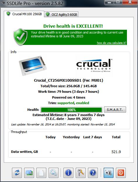 SSDLife Crucail MX100.png