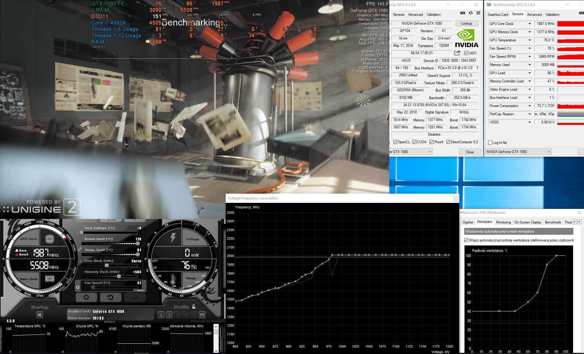 Undervolting + Overclocking and Base/Boost frequency read