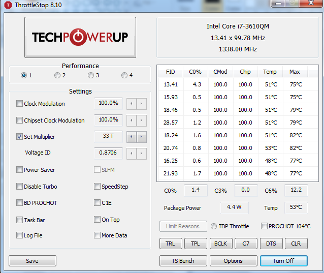 CPU Throttling at High Performance settings | Page 2