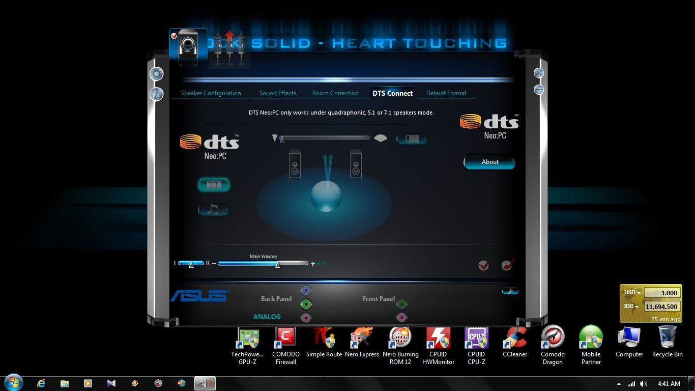 Unlocked Realtek HD Audio Drivers Windows 7 & 8 (With Dolby
