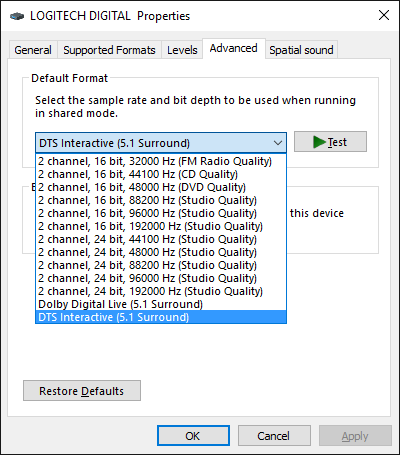 Need Help With 5 1 Surround Sound with W10 SP/DIF   TechPowerUp Forums