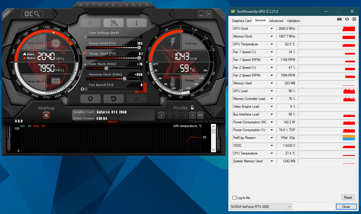 RTX 2070 artifacting when power limit is set to max | TechPowerUp Forums