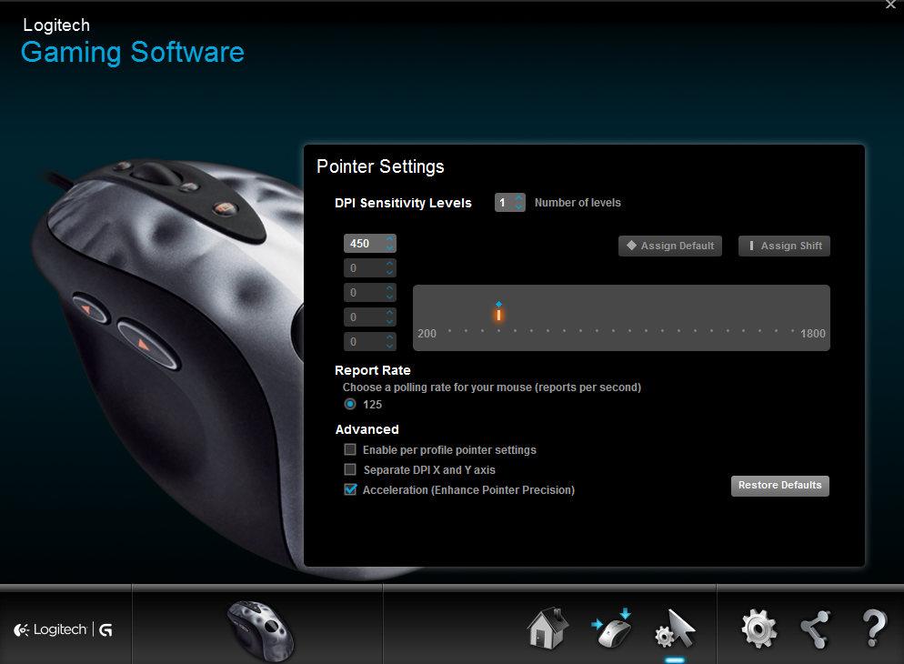 Default mouse drivers conflicting with downloaded drivers