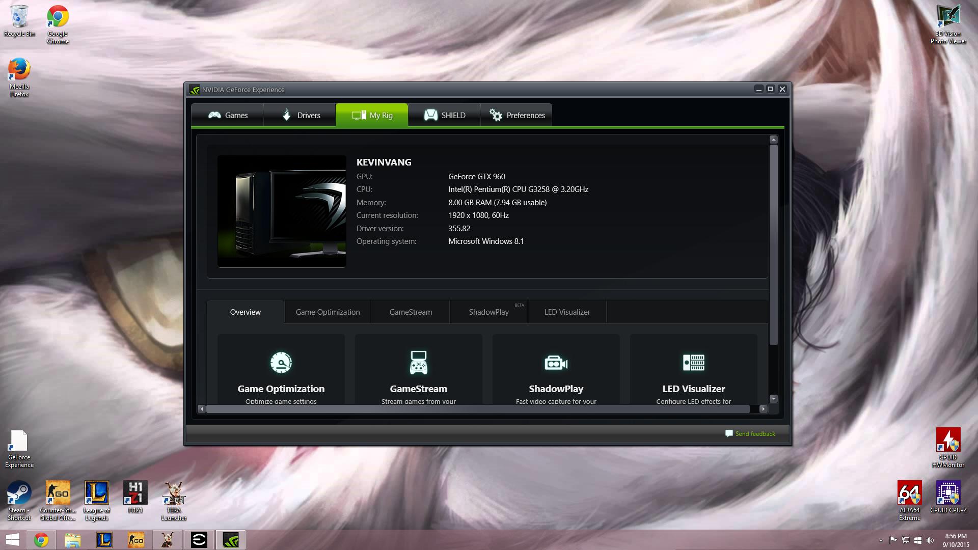 Nvidia Shadowplay not ready (GTX 960 2gb ssc) | TechPowerUp
