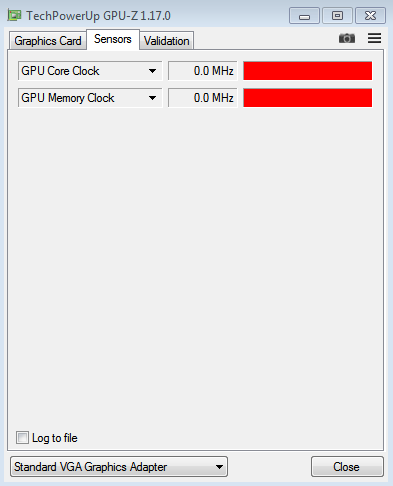 GPU-Z not showing all GPU info (and incorrectly