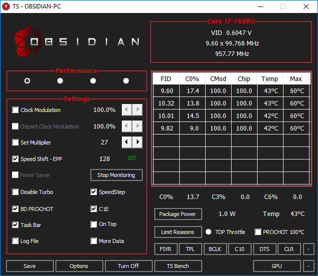 LENOVO T470S not turbo boosting | TechPowerUp Forums