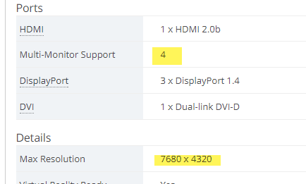 Which graphics card(s?) for 6 x high res monitors, not