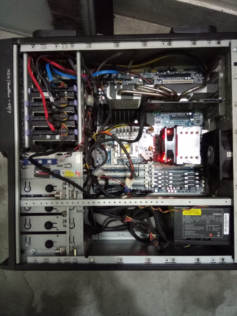 i am also making workstation with HP z800 Motherboard | TechPowerUp