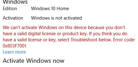 new motherboard windows activation
