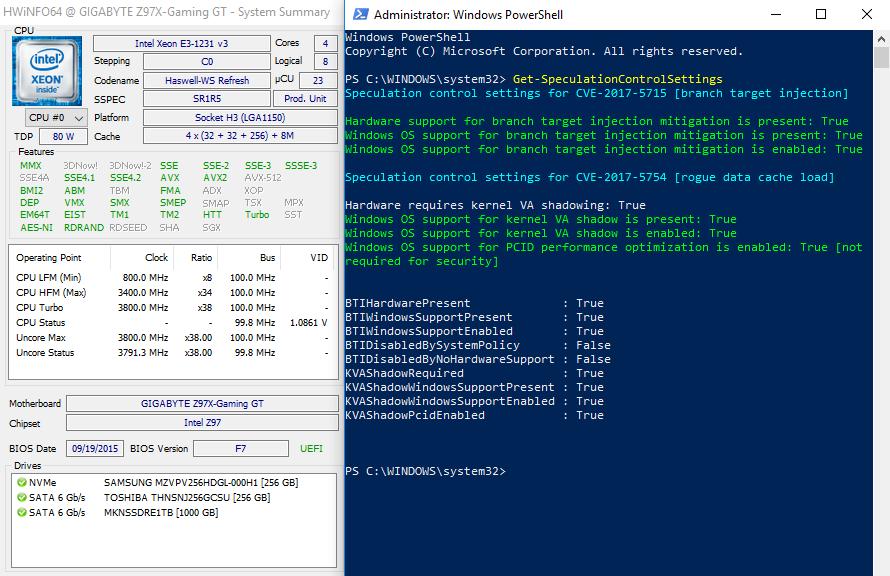 Major Intel CPU Hardware Vulnerability Found | Page 12 | TechPowerUp