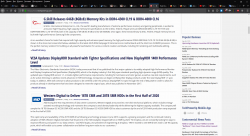 Firefox 69 0 + ublock origin makes it so that most of the